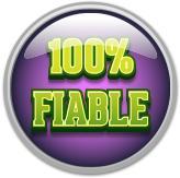logo 100% fiable