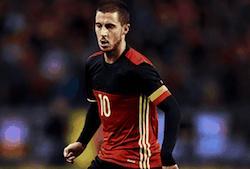 Eden Hazard football joueur belge